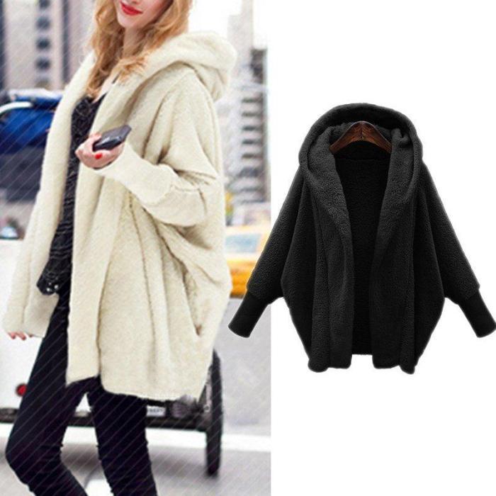 Women Warm Faux Fur Jacket