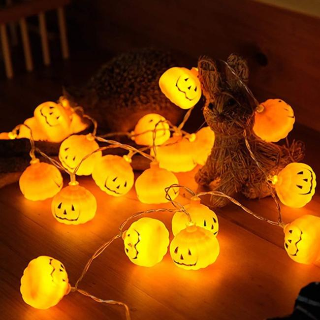 Halloween Pumpkin LED String Lights Garden Home Party Decoration Holiday String Light Halloween Lights