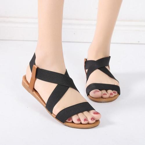 Summer Casual Shoes Female Women Flat Rome Sandals