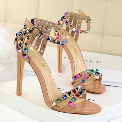 Women's Shoes Stiletto High Heels Open Toe Sandals