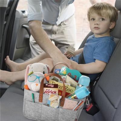 Portable Baby Diaper Caddy Organizer