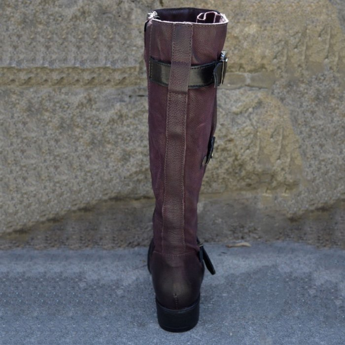 All Season Daily Flat Heel Boots