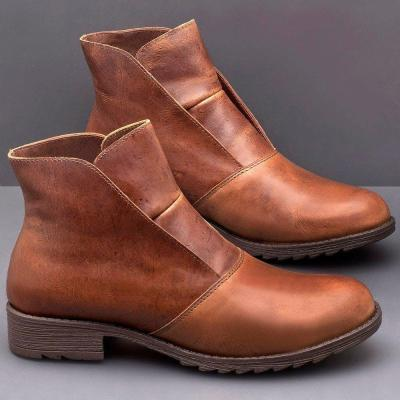 Leather Spring/fall Boots