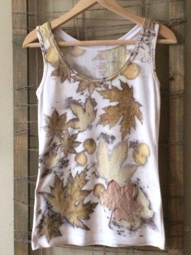 Casual Round Neck Sleeveless Printed Shirts