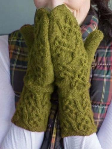 Red Elegant Gloves & Mittens