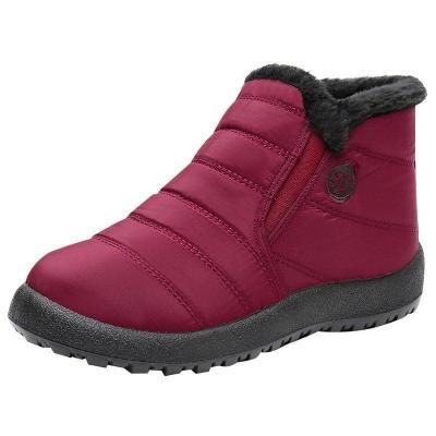 Women Winter Waterproof Comfy Slip-On Snow Boots