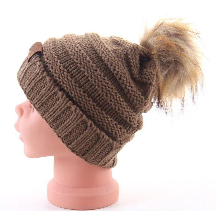 Winter Knit  Beanies Children Hat Autumn Ball Hat for Kids Boys Girls Warm Knitted Outdoor Caps 2020 Kids Christmas Gift