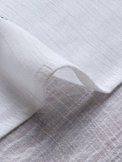 Bohemian Print Short Sleeve V Neck Button Blouse