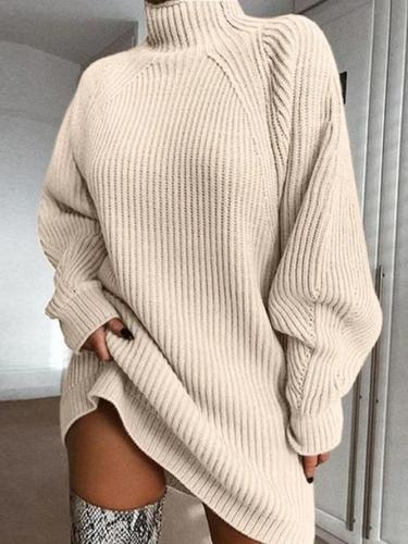 Shift Solid Raglan Sleeve Sweater
