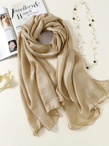 Pashmina Cape Linen And Cotton Fashion Female Autumn Winter Shawl