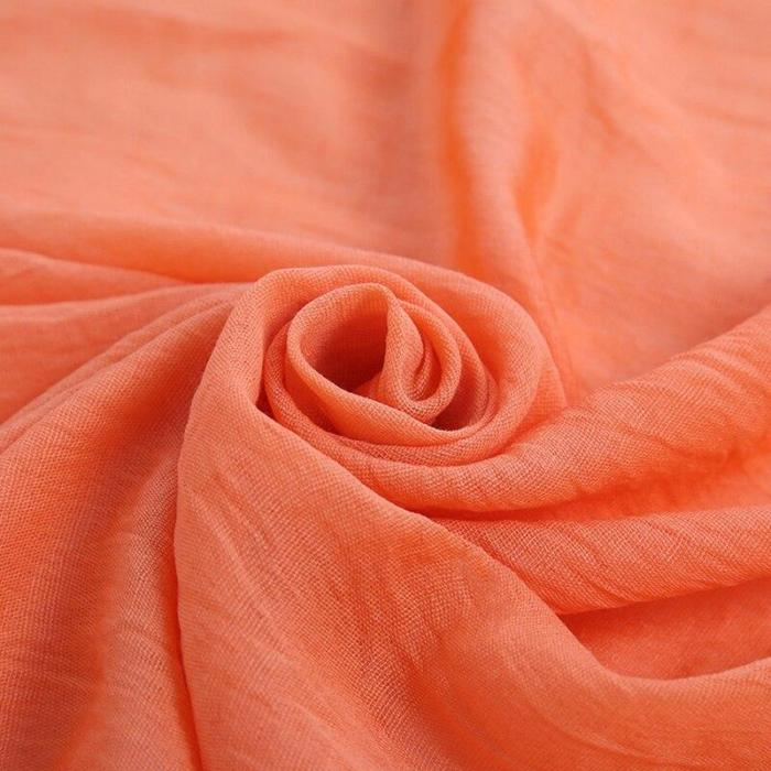 Fashion Solid Color Cotton Linen Women Scarf Green Warm Cape Autumn Winter Ladies Voile Scarf 2020 Women's Shawl