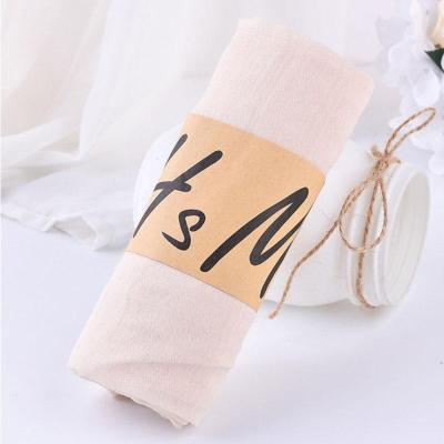 Women Solid Color Cotton Scarf Soft Linen Scarf Shawls and Wraps Candy Colored Female Foulard Muslim Head Scarves Hijab Stoles