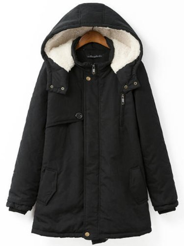 Casual Cotton Large padded cotton jacket