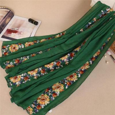 2019 Women Fashion Shawls African Ethnic Floral Viscose Scarf Autumn Winter Print Cotton