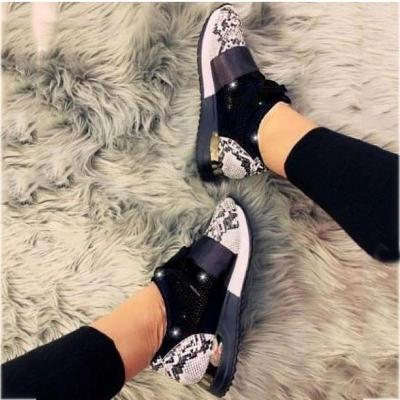 Women's Fashion Casual Hollow Breathable Snake Sneakers