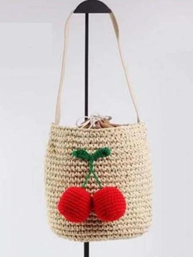 Sweet Cherry/ ball Shoulder Bags