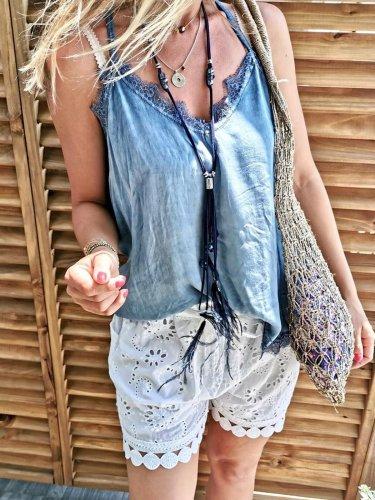 Cotton sleeveless sling top