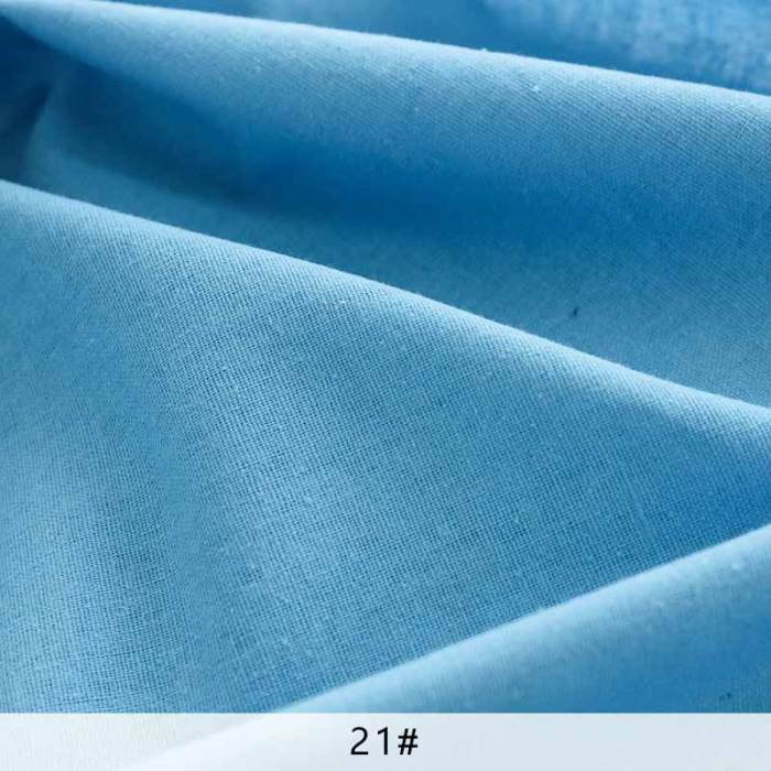 Raw cloth faux Linen fabric rough solid polyester cotton fabric for sewing storage bag and pillow case background cloth