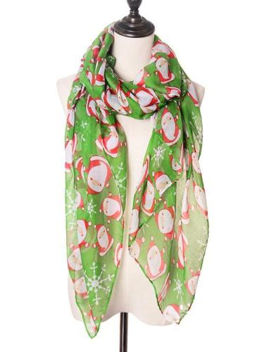 Christmas Holiday Scarves & Shawls