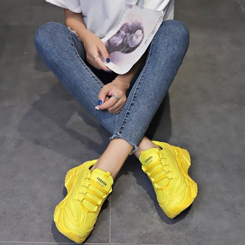 Women's Fashion Breathable Mesh Platform Sneakers