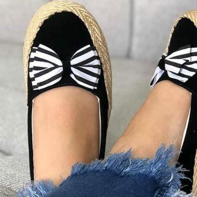 Bowknot Slip-on Loafers