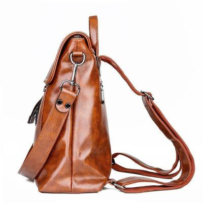 Women's retro casual backpack