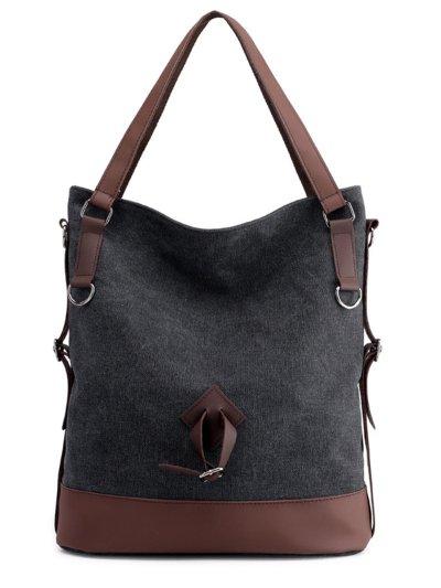 Women Canvas Large Capacity Bag Leisure  Shoulder Bags