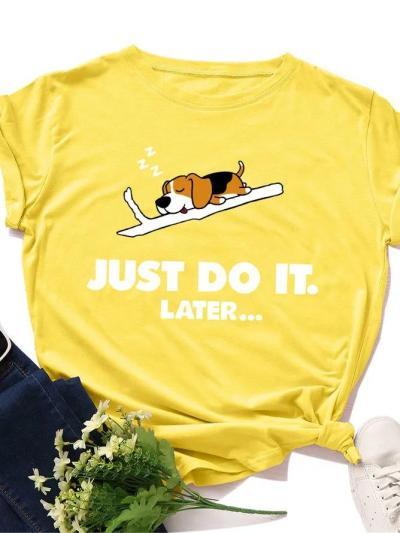 Short Sleeve Printed Casual Shirts & Tops