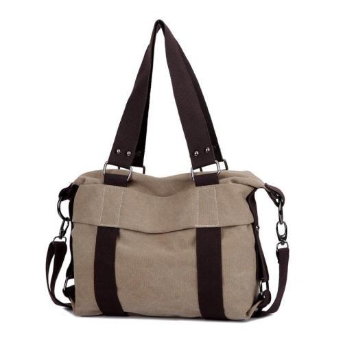 Vintage Canvas Bag Ladies Shoulder Bag cCasual Messenger Bag