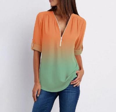 2021 Spring Autumn Women Blouses Button Befree Boho Ruffles Long Full Sleeve Casual Chiffon Tops Shirts