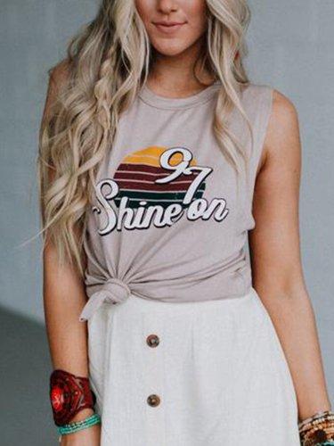 Khaki Cotton Shirts & Tops