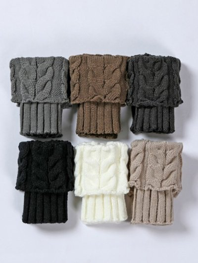 Solid Colors Warm Ankle Socks