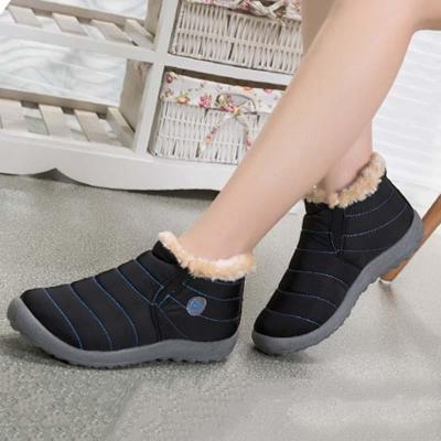 Women Snow Booties Casual Comfort Warm Plus Size Waterproof Shoes