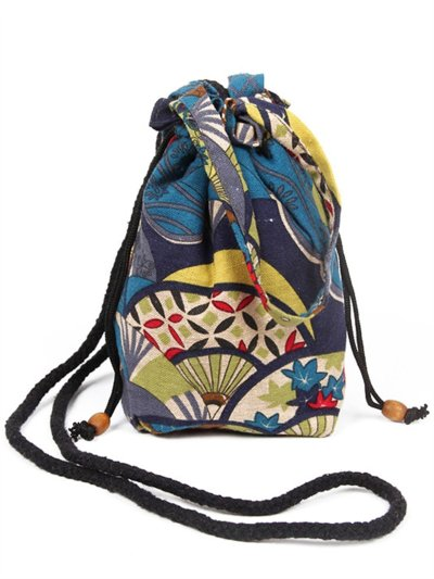 Boho Drawstring Crossbody Bags