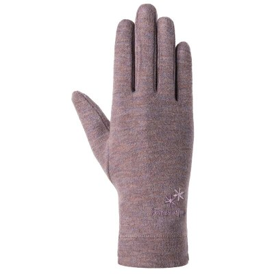 Fashion Women Autumn Winter Plush Inside  Warm Sports Fitness Touch Screen Cycling Mittens Female Wool Knit Cashmere Gloves C70