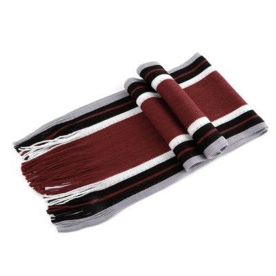 Winter Design Striped Scarf Men Shawls Scarves