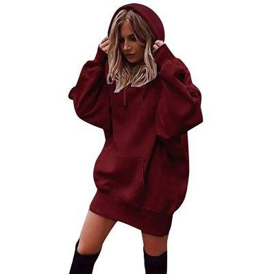 Women Hoodies sweatshirt autumn sweatshirts dress women cotton pullover long sleeve
