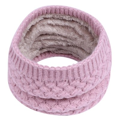 circle winter scarf for Children Warm cotton solid Scarf for Boys Girls kids Baby Warmer Circle Ski Climbing Scarf Neck Scarf