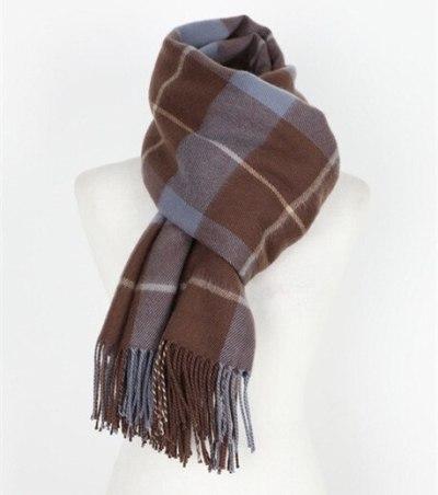 Plaid Scarf for Women Fashion Winter Shawl Female Tippet Scarf