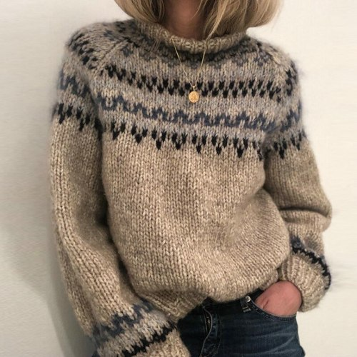 Turtleneck Sweaters Women Autumn Winter Warm Long Sleeve Knitted