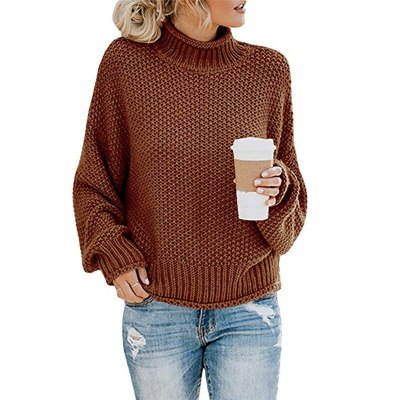 Turtleneck Sweaters Women Autumn Winter Casual JumpersSweaters Warm