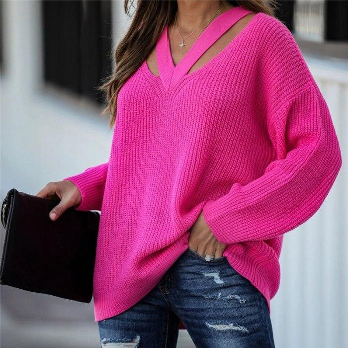 Casual Sweaters Boho Holiday Knitwear Sweater