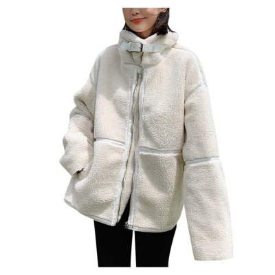 Women Ladies Fashion  Long Sleeve Loose Outerwear Chic Tops