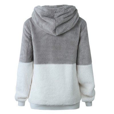 Autumn Winter Fashion Open Stitch Hooded