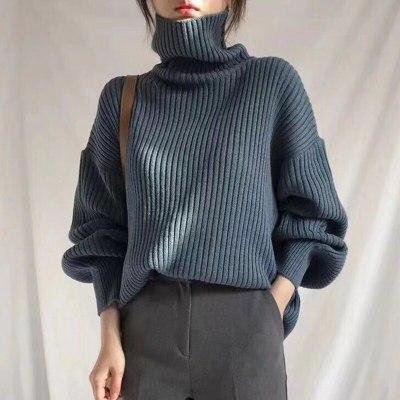 Vintage Thicken Striped Women Sweaters