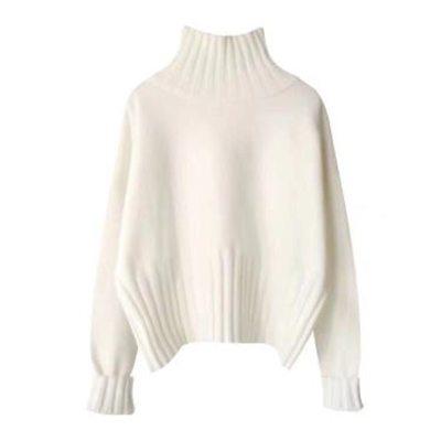 Loose Languid  Sweater Turtleneck Small Sweet Long Sleeve