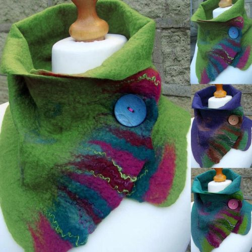 Scarf Women Winter Green Vintage Plain Shawls