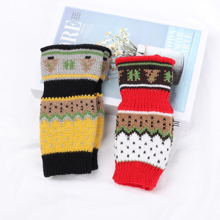 Arrival Winter Warm Long Knitted Gloves