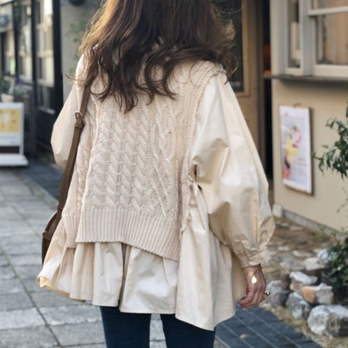 Autumn Winter Fashion Knitted Long Sleeve Top Women Casual Loose Plain Female Pullover