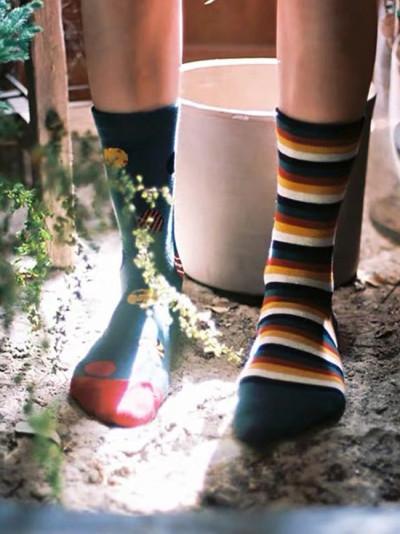 Socks Japanese Printed Christmas Stockings